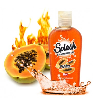 SPLASH SLIPPERY GEL - PAPAYA Hot