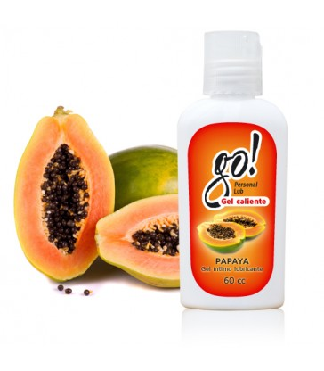 Gel Lubricante GO! Papaya